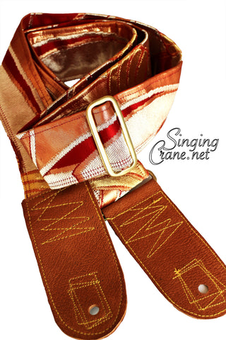 Singing Crane - Beautiful guitar strap - SC102115 : Beni-original