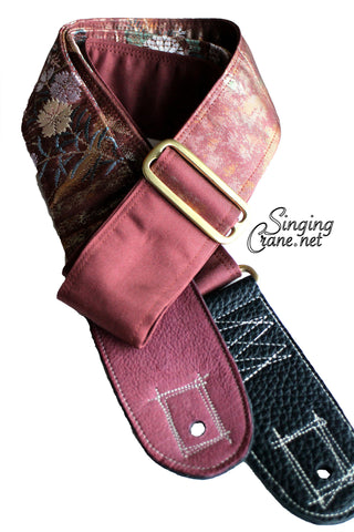 Singing Crane - Beautiful guitar strap - SC103115 : Fuji-original