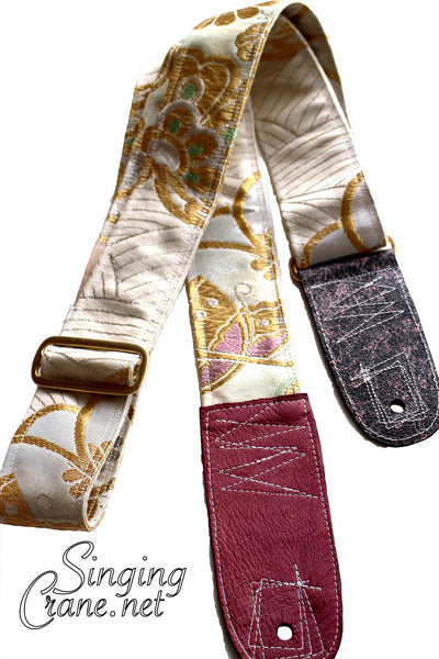 Singing Crane - Beautiful guitar strap - SC106115 : Unohana-original [only available on Reverb]