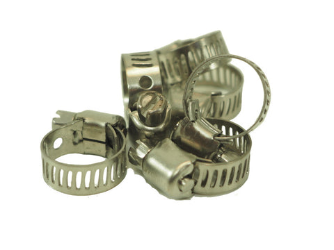 "Hose Clamp- screw 1/4""- 5/8"" - Doc's Cellar"