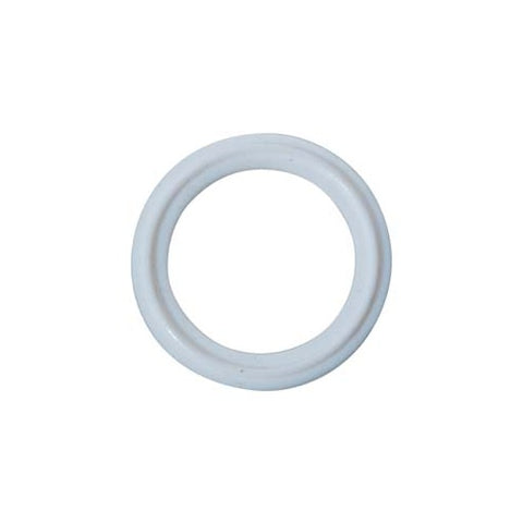 "2"" Tri-Clamp Gasket, White Teflon - Doc's Cellar"