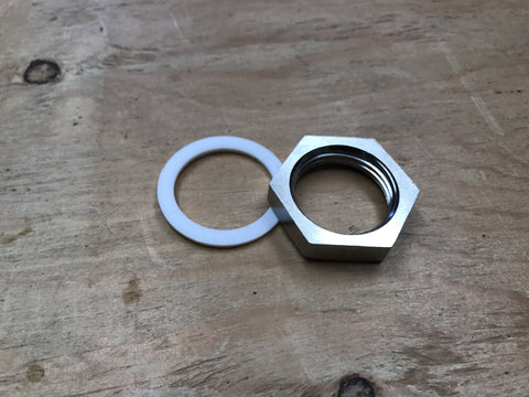 Stainless Steel Nut & Gasket for Still Heater - Doc's Cellar