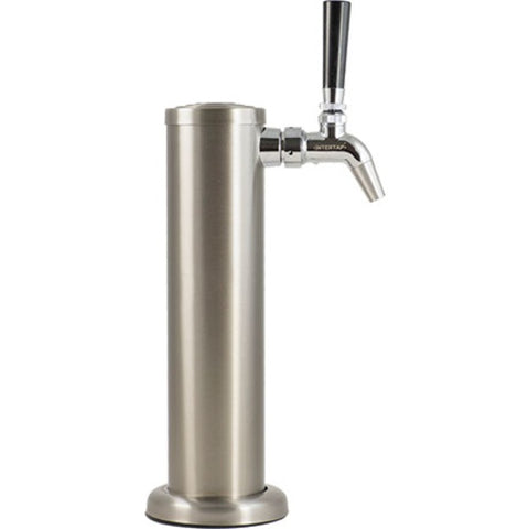 Stainless Draft Tower with Stainless Faucet, Single Tap - Doc's Cellar