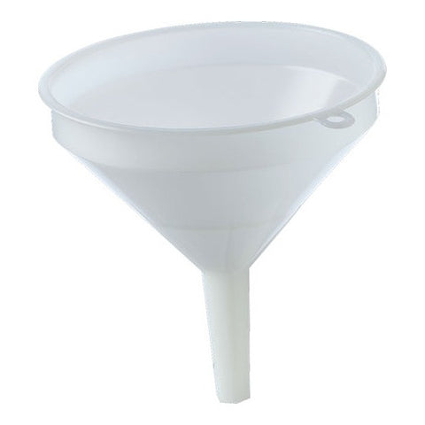 Funnel- 12cm White Plastic - Doc's Cellar