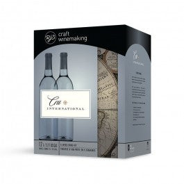 Cru International Wine Kit - California Chardonnay - Doc's Cellar