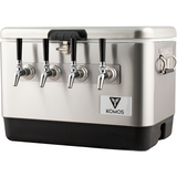 Stainless Steel Draft Box, 4 Tap