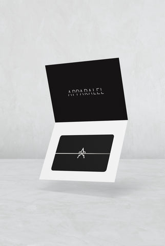 Apparalel Gift Card
