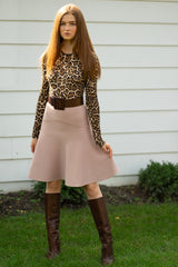 The Alpha Skirt in Dusty Rose - Original Fit