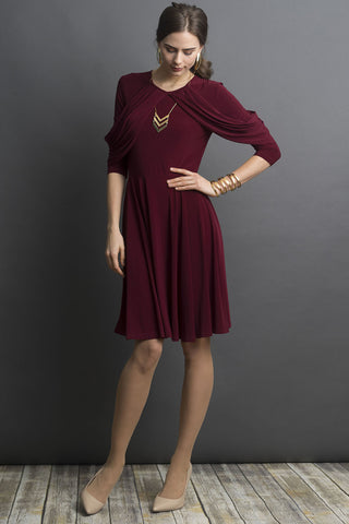 Draped Jersey Dress (more colors available)