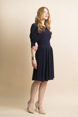 FINAL SALE Draped Jersey Dress (more colors available)