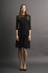 Jersey Dress with Waist Tie (more colors available)