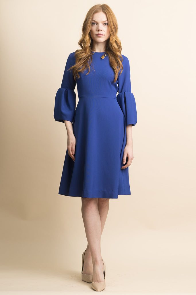 FINAL SALE Oversize Bell Sleeve Dress (more colors available)