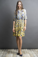 Printed Crepe Dress (more colors available)