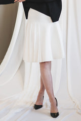 The Morph Skirt in Winter White