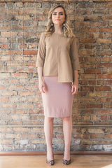 The Perfect Pencil Skirt in Blush