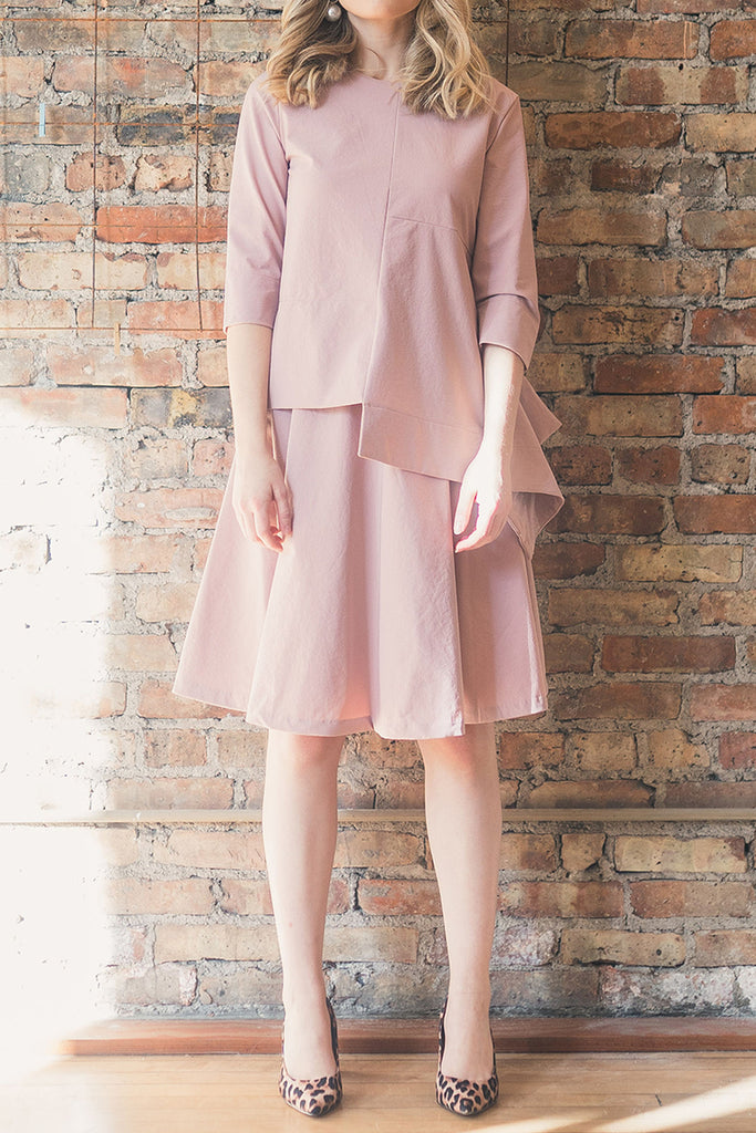 The Circle Skirt in Blush