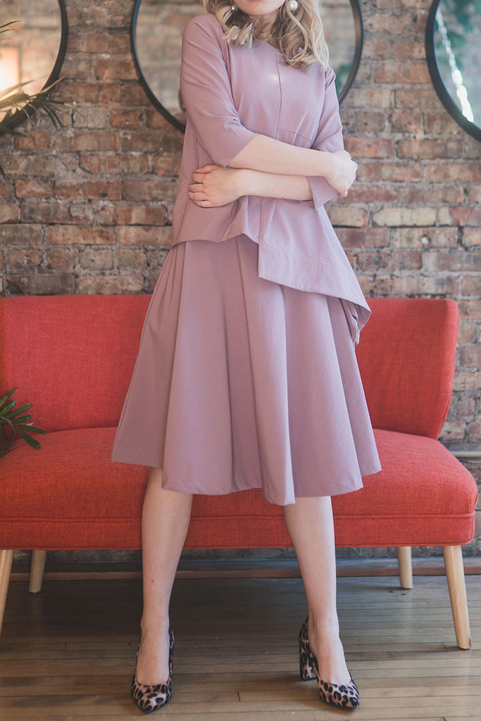 The Circle Skirt in Lilac