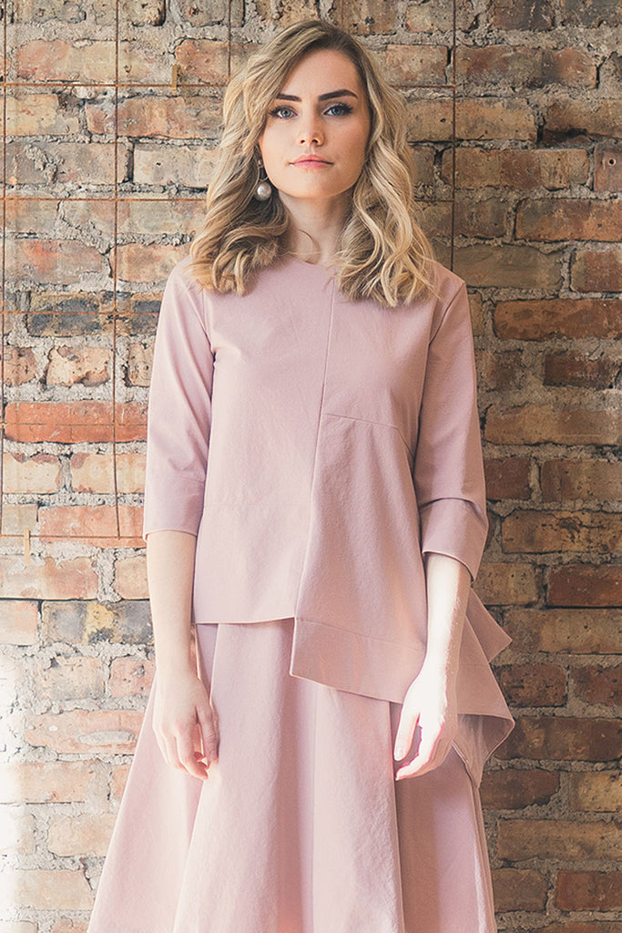 The Tetra Top in Blush