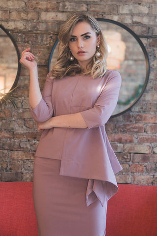 The Tetra Top in Lilac