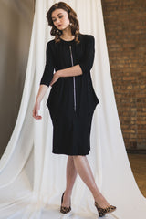 The Everything Dress in Black