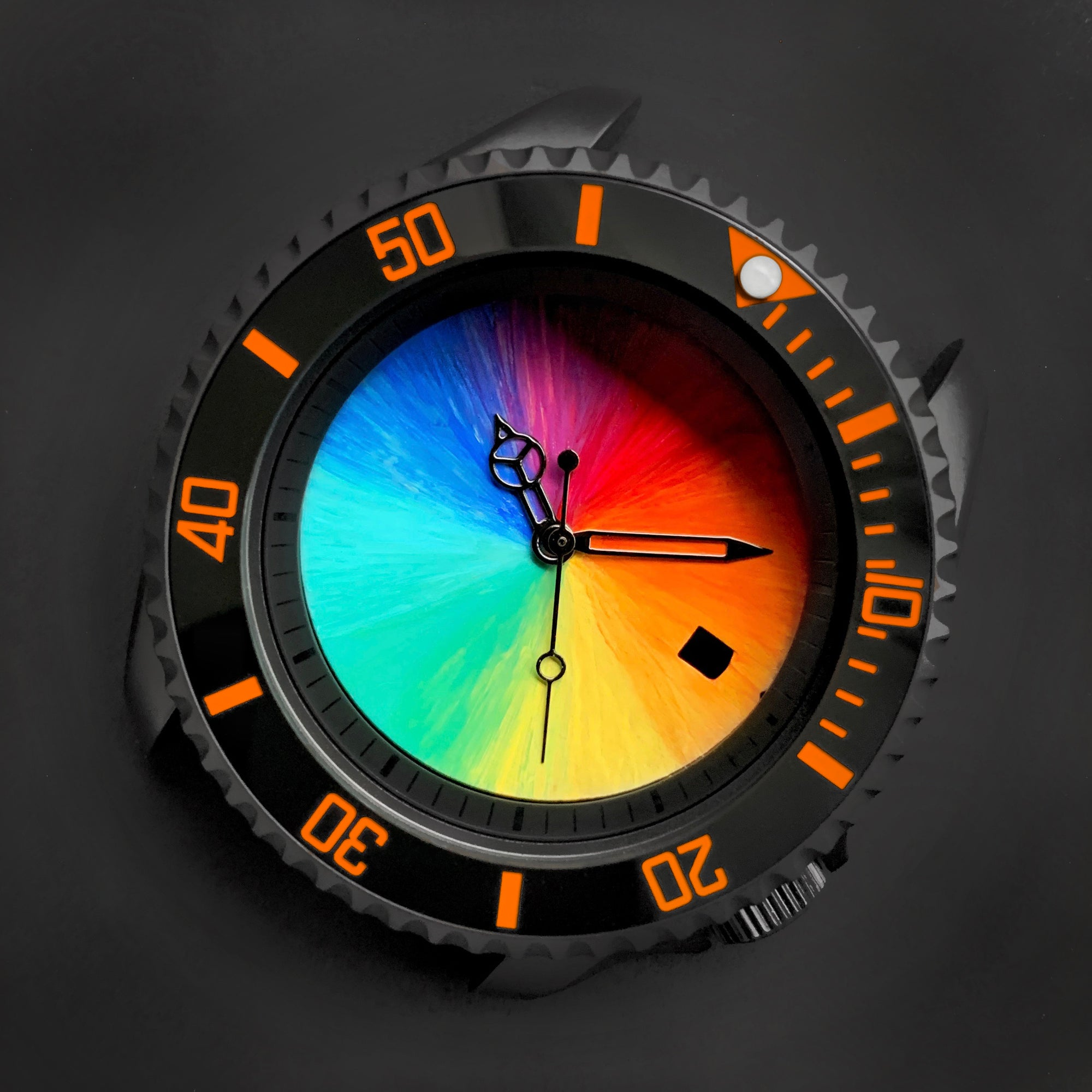 Ceramic Insert - 007 Sub Black X Orange