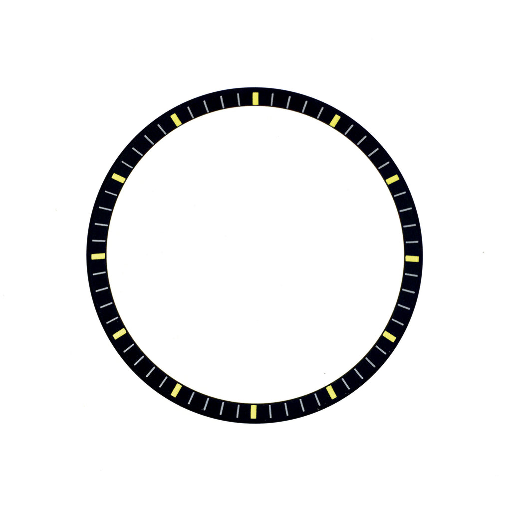 C.R. - SKX007 - Matt Black w Markers (Yellow)
