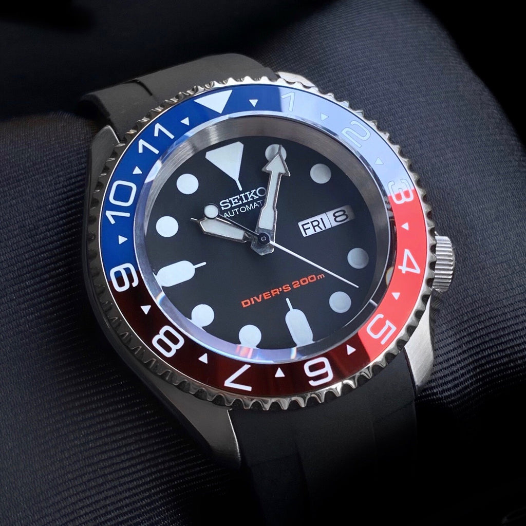 Ceramic Insert - 007 Dual Time Pepsi