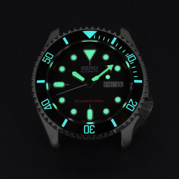 Ceramic Insert - 007 Sub Black - Luminous Aquaris