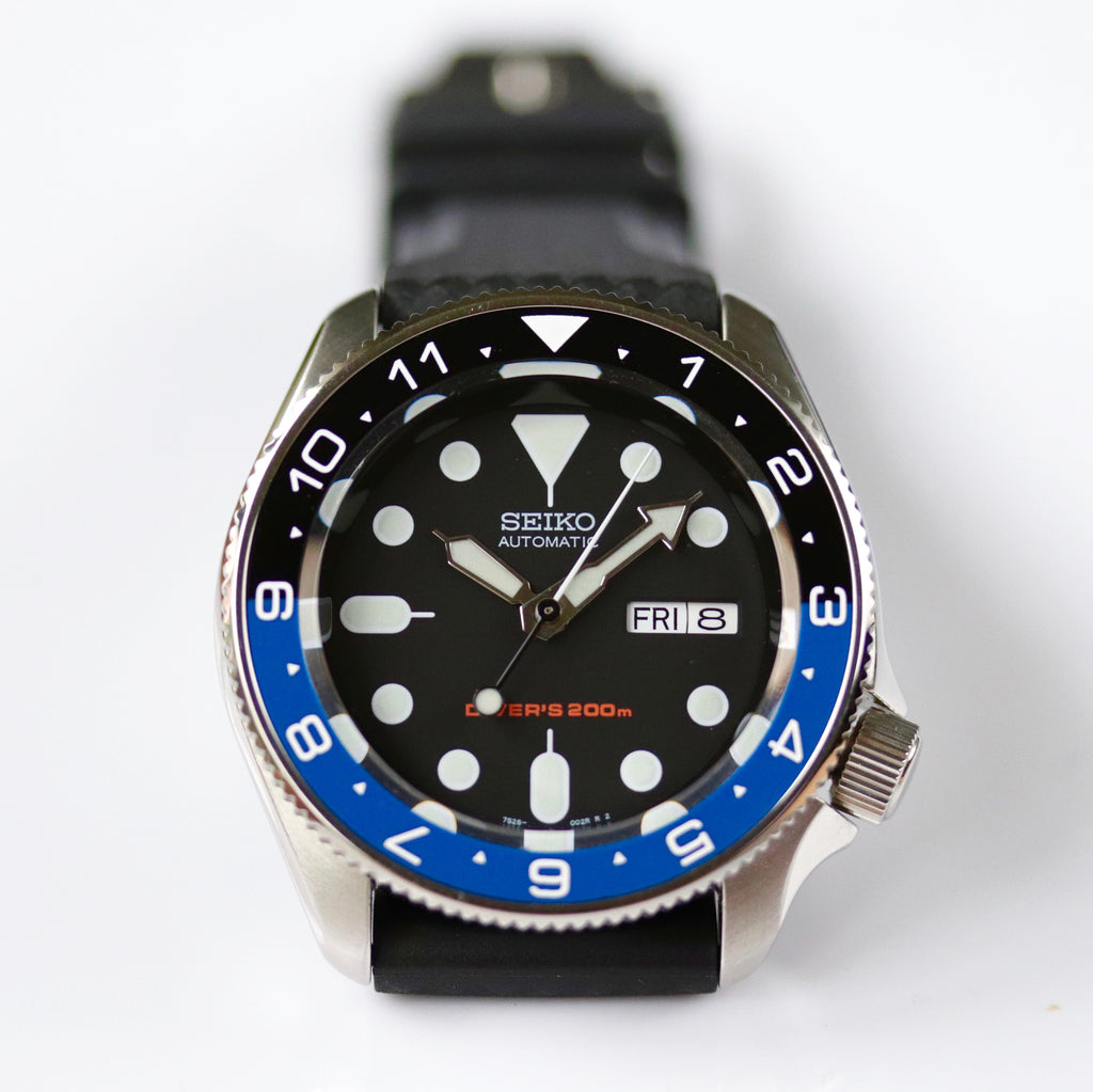 Ceramic Insert - SKX Dual Time Batman