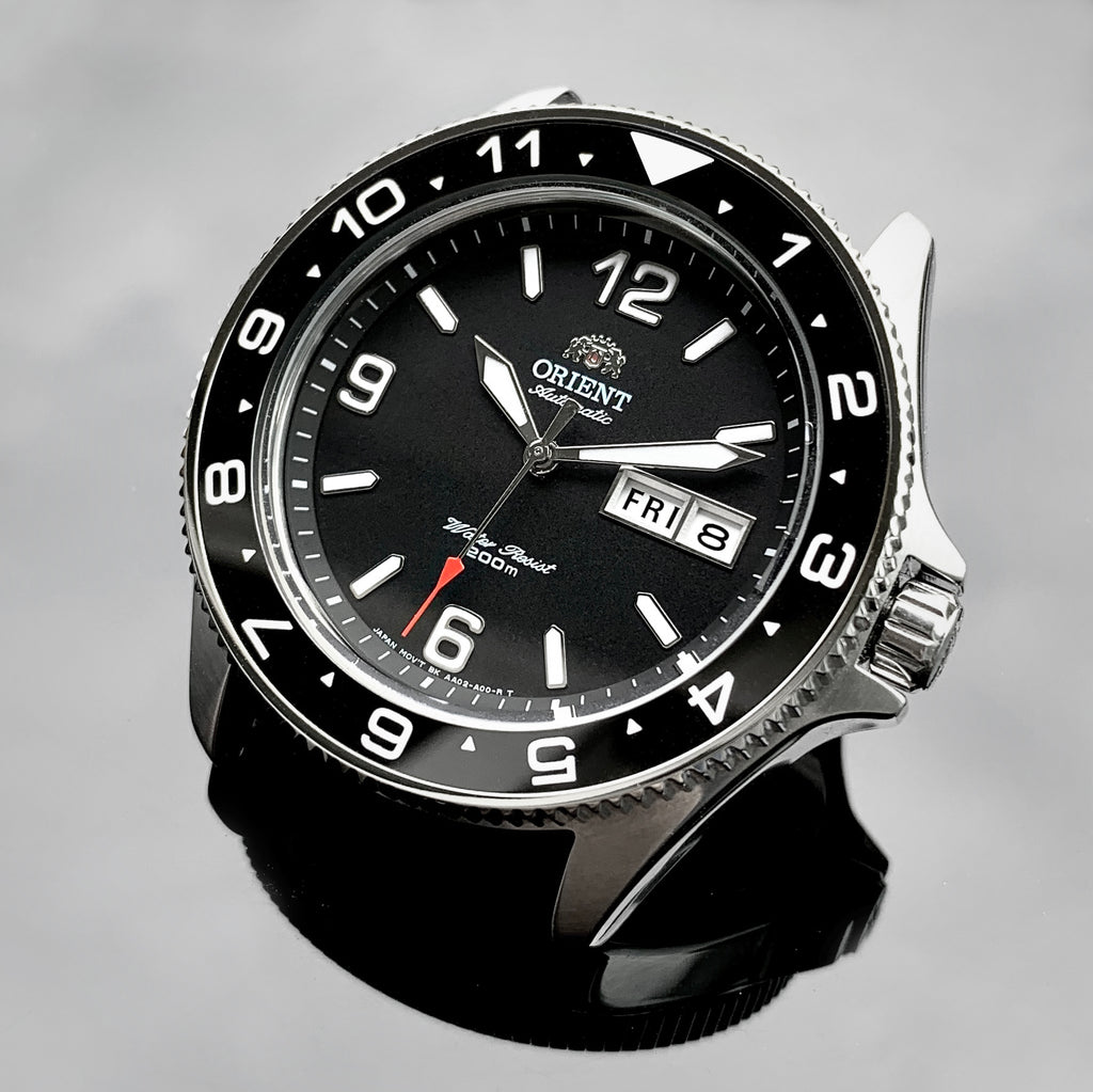 Bezel - Orient Mako & Ray Coin Edge - Polished Steel