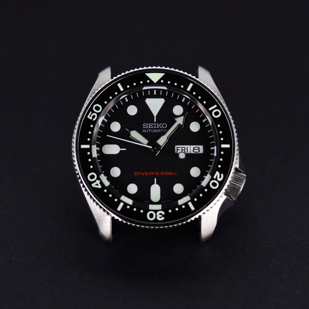 Ceramic Insert - SKX Black - Luminous Aquaris