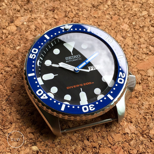 Ceramic Insert - SKX Blue