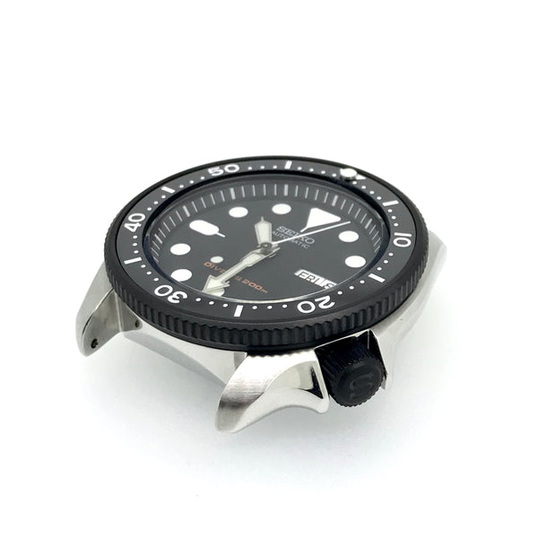 "Crown - SKX007 - Bead Blasted PVD Black - ""S"""