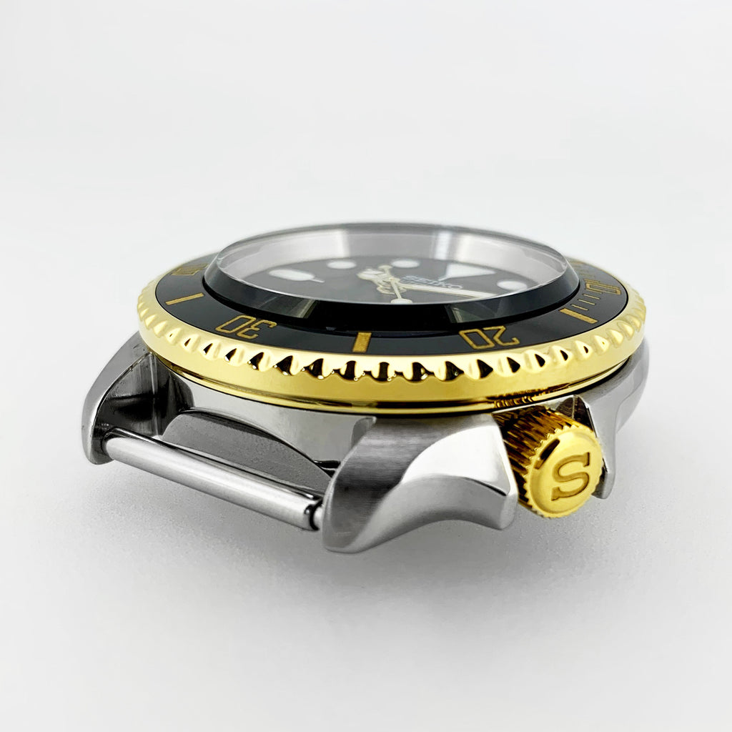 "Crown - SKX007 - Polished PVD Gold - ""S"""