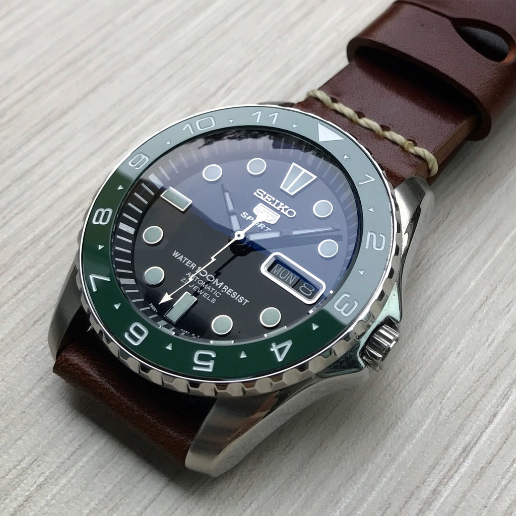 Ceramic Insert - Urchin Dual Time Green