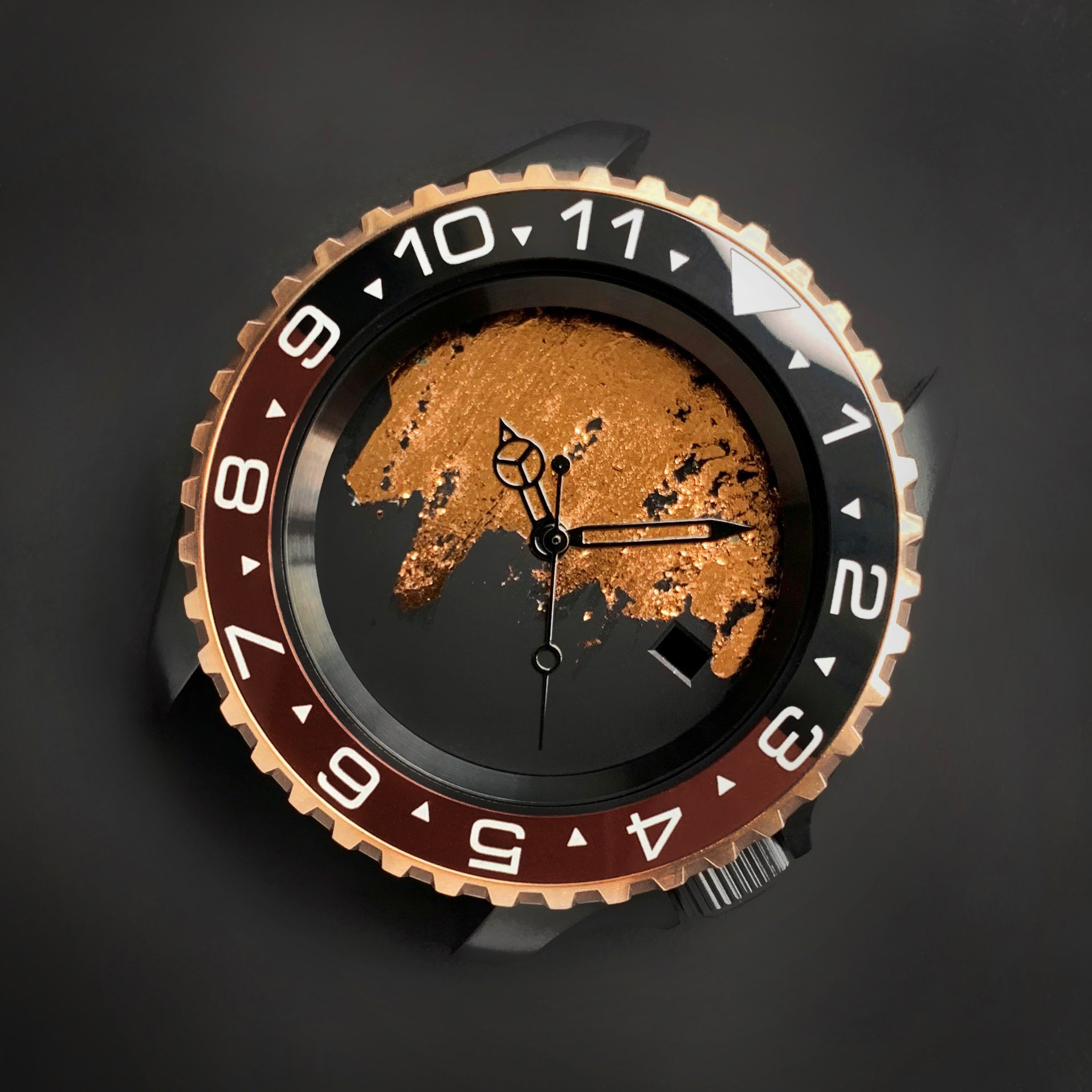 Ceramic Insert - 007 Dual Time Root Beer