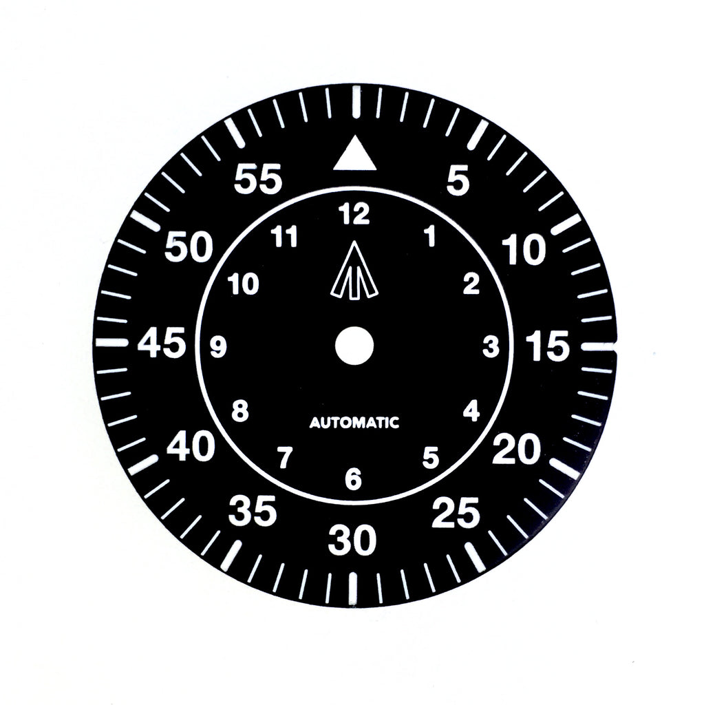 Dial - Mil Spec - Black - No Date