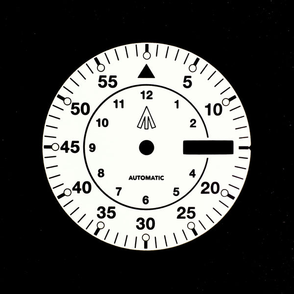 Dial - Mil Spec - White - Day Date