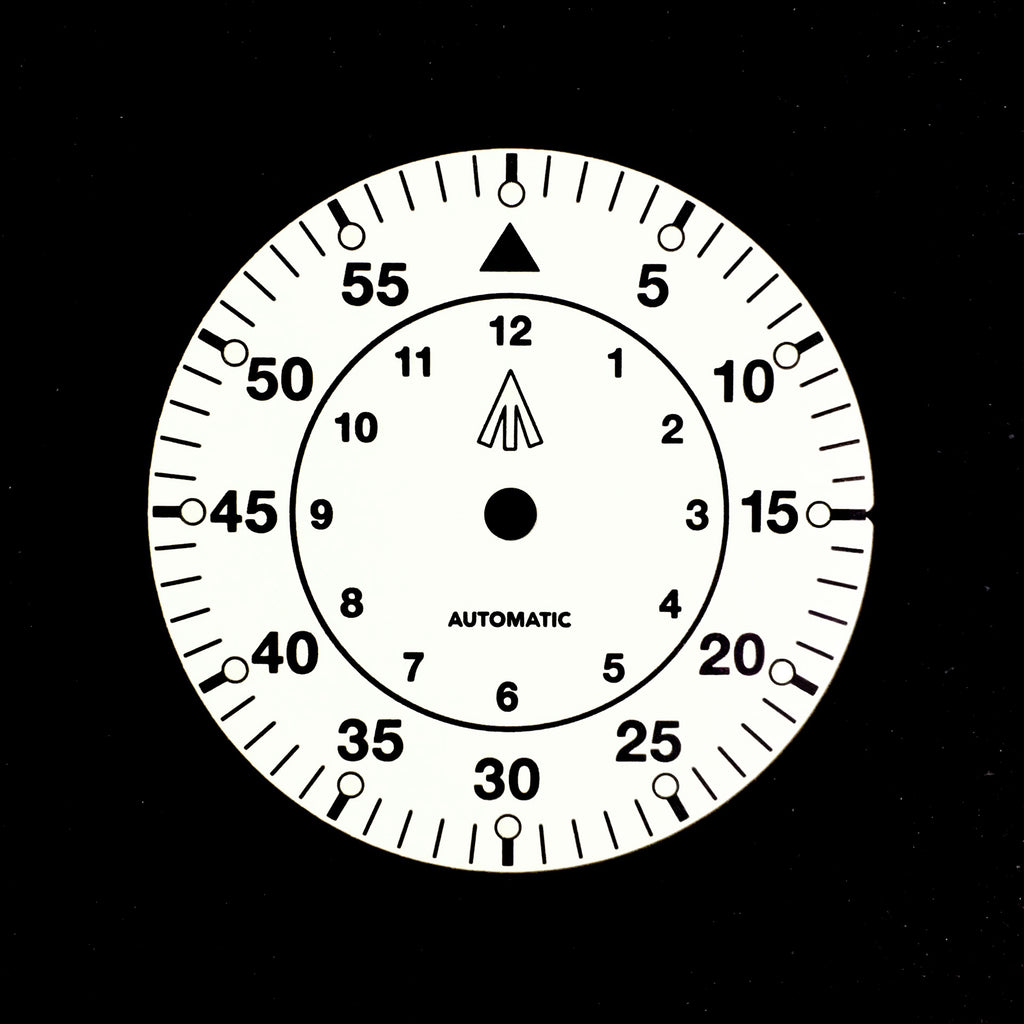 Dial - Mil Spec - White - No Date