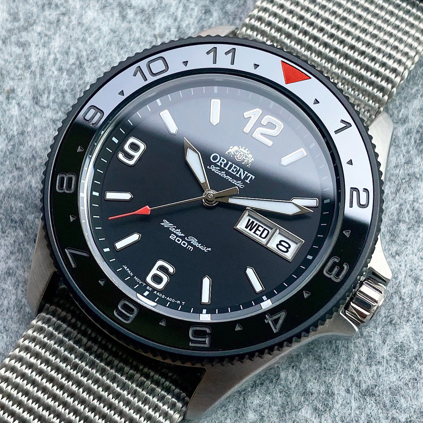 Ceramic Insert - SKX Dual Time Red T Stealth