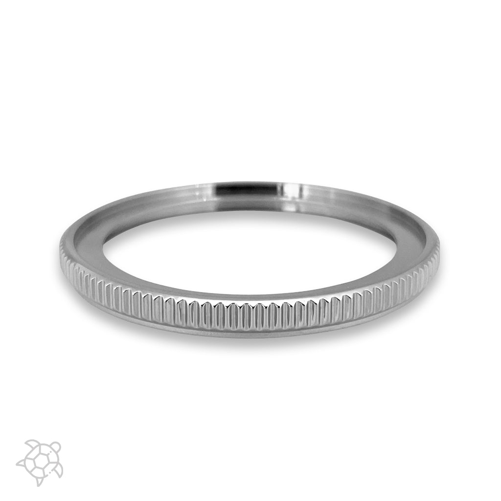 Bezel - SRP Turtle Coin Edge - Polished Steel