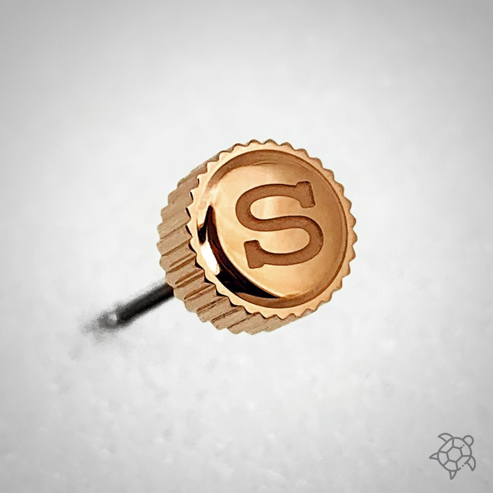 "Crown - SRP Turtle - Polished PVD Rose Gold - ""S"""