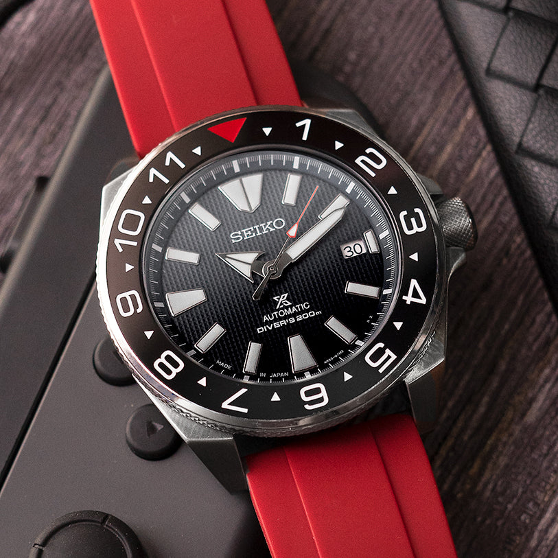 Ceramic Insert - Samurai Dual Time Red T Black