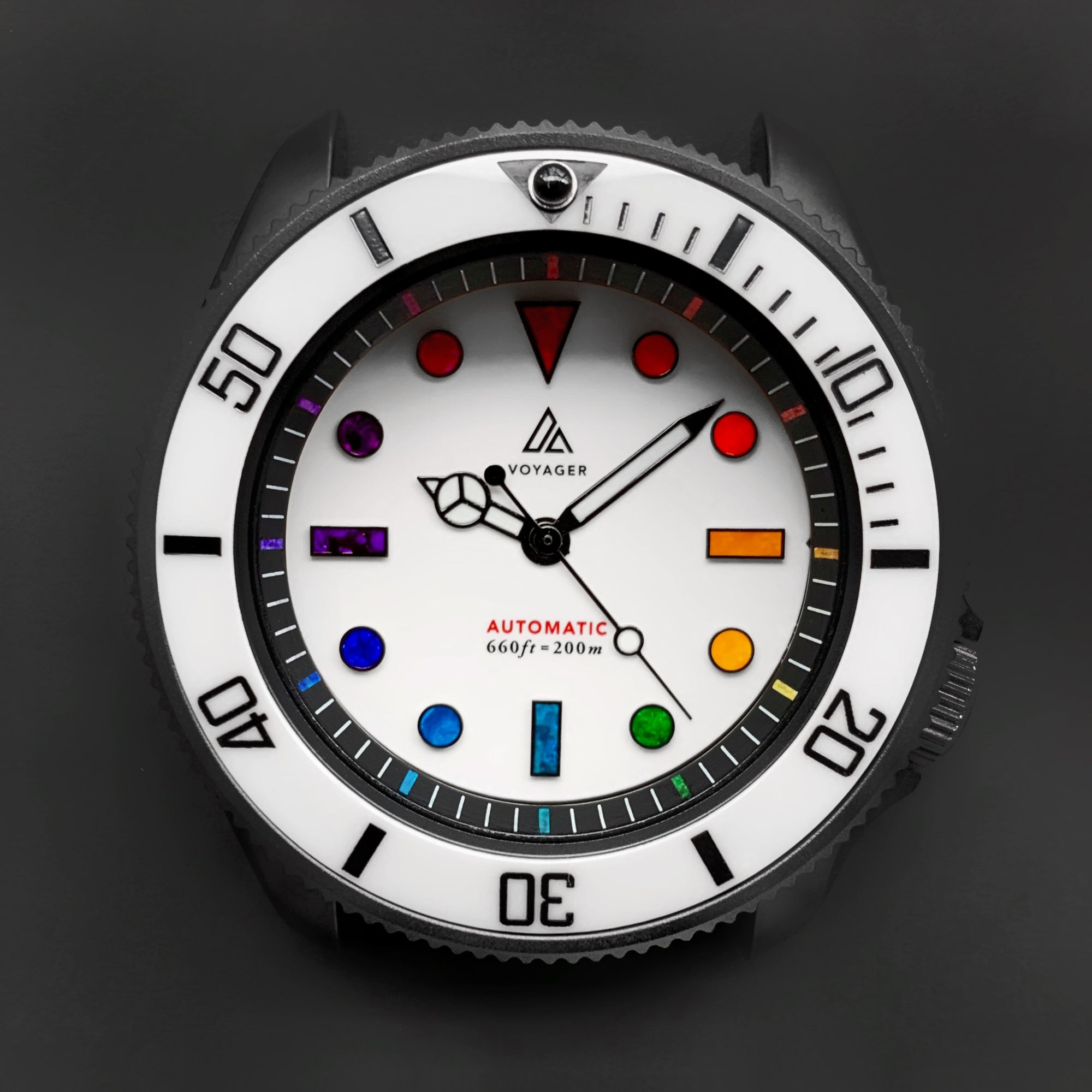 C.R. - SKX007 - Hand Painted Series - Spectrum