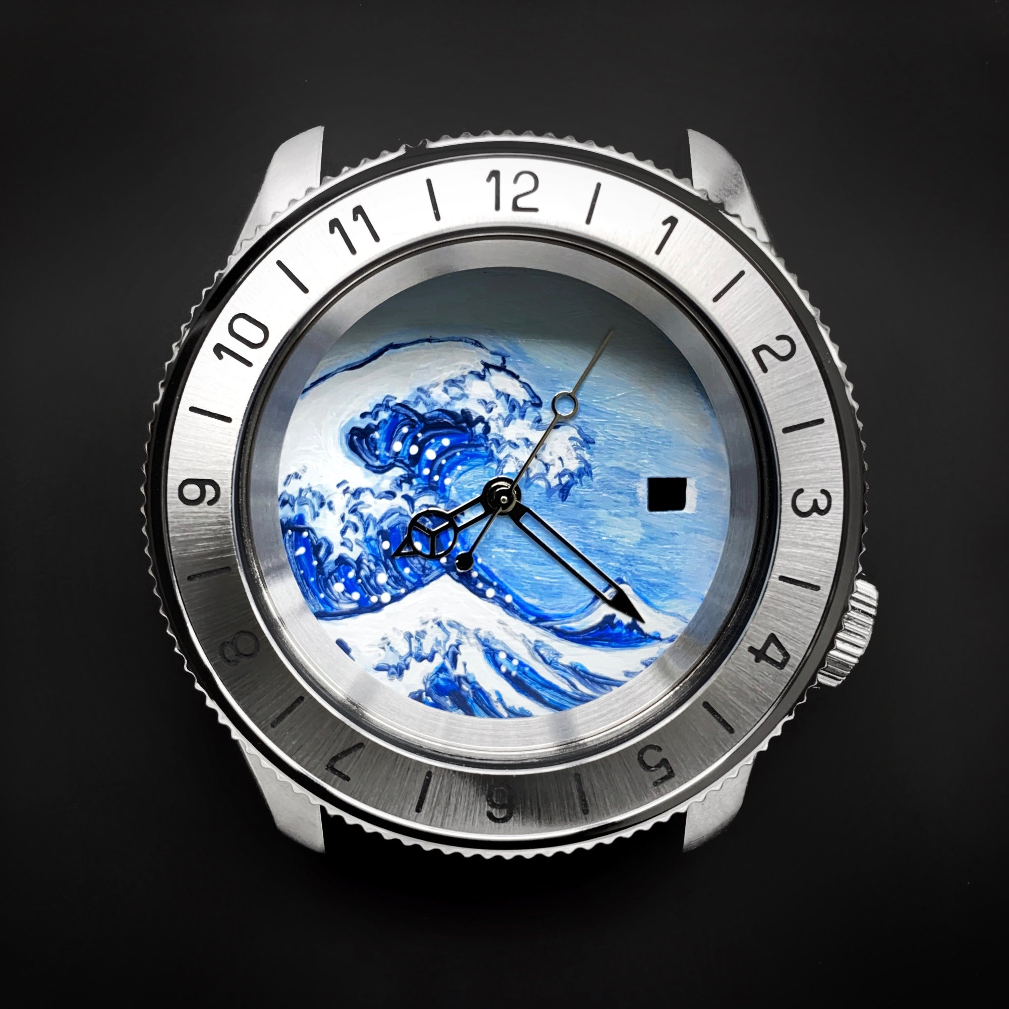Dial - Hand Painted Series - The Great Wave