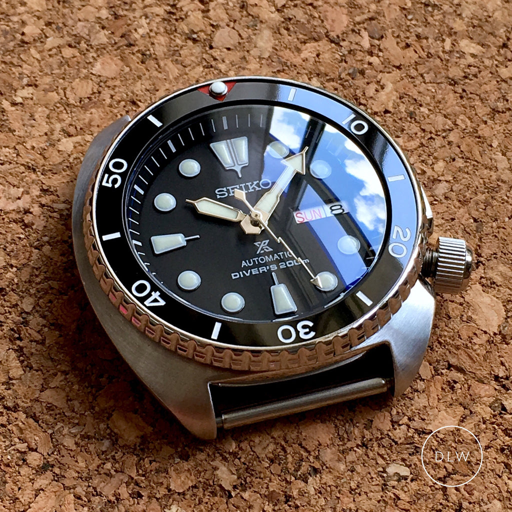 Ceramic Insert - Turtle Re-issue Sub Vintage Black