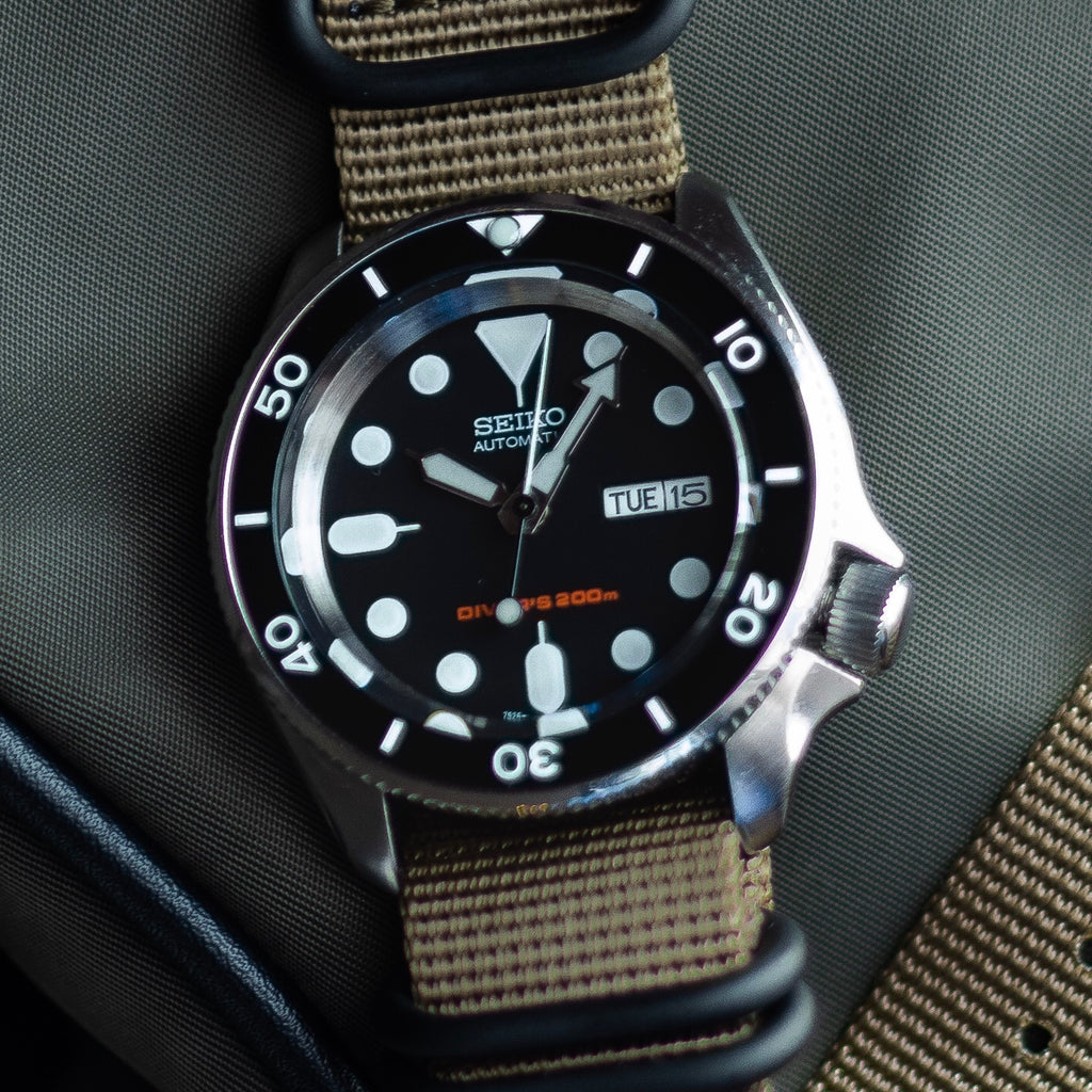 Ceramic Insert - SKX Black - Minimus