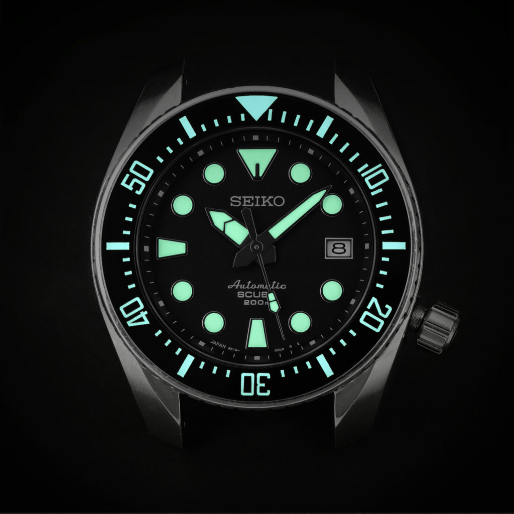Ceramic Insert - Sumo MK2 Black - Luminous Aquaris