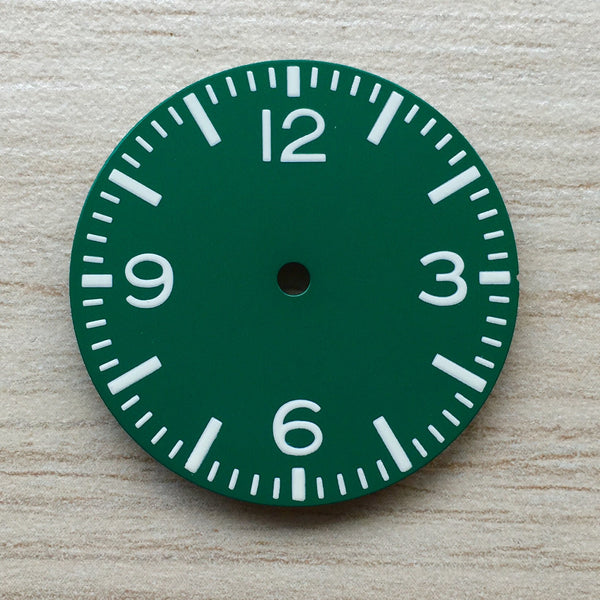 Dial - Aviator - Plain Green