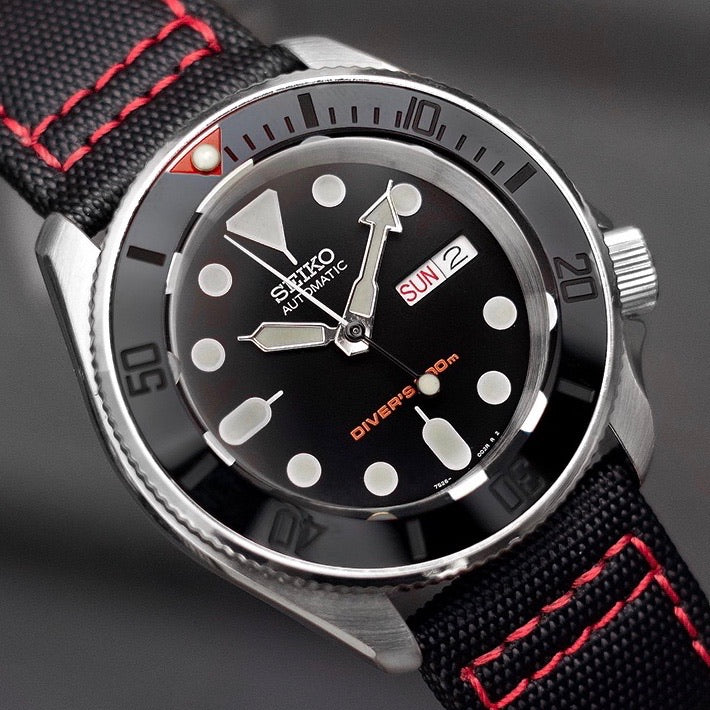 Ceramic Insert - 007 Sub Red T Stealth
